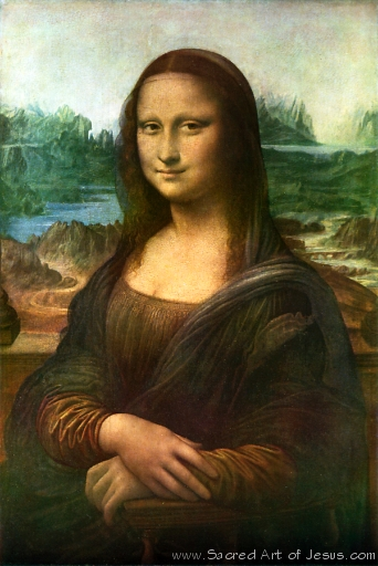 Sacred Art of Jesus/People/Mona Lisa, Leonardo da Vinci ...